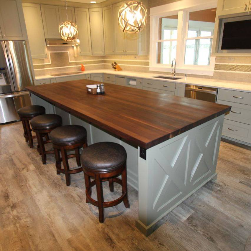 28 great kitchen islands 38 amazing kitchen island for Great kitchen designs