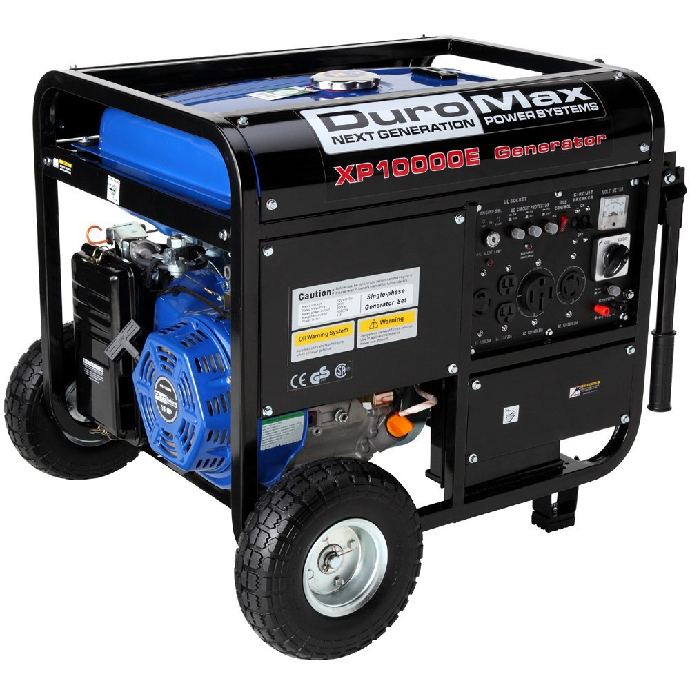 Duromax Xp10000eh Portable Fuel Ed Generator