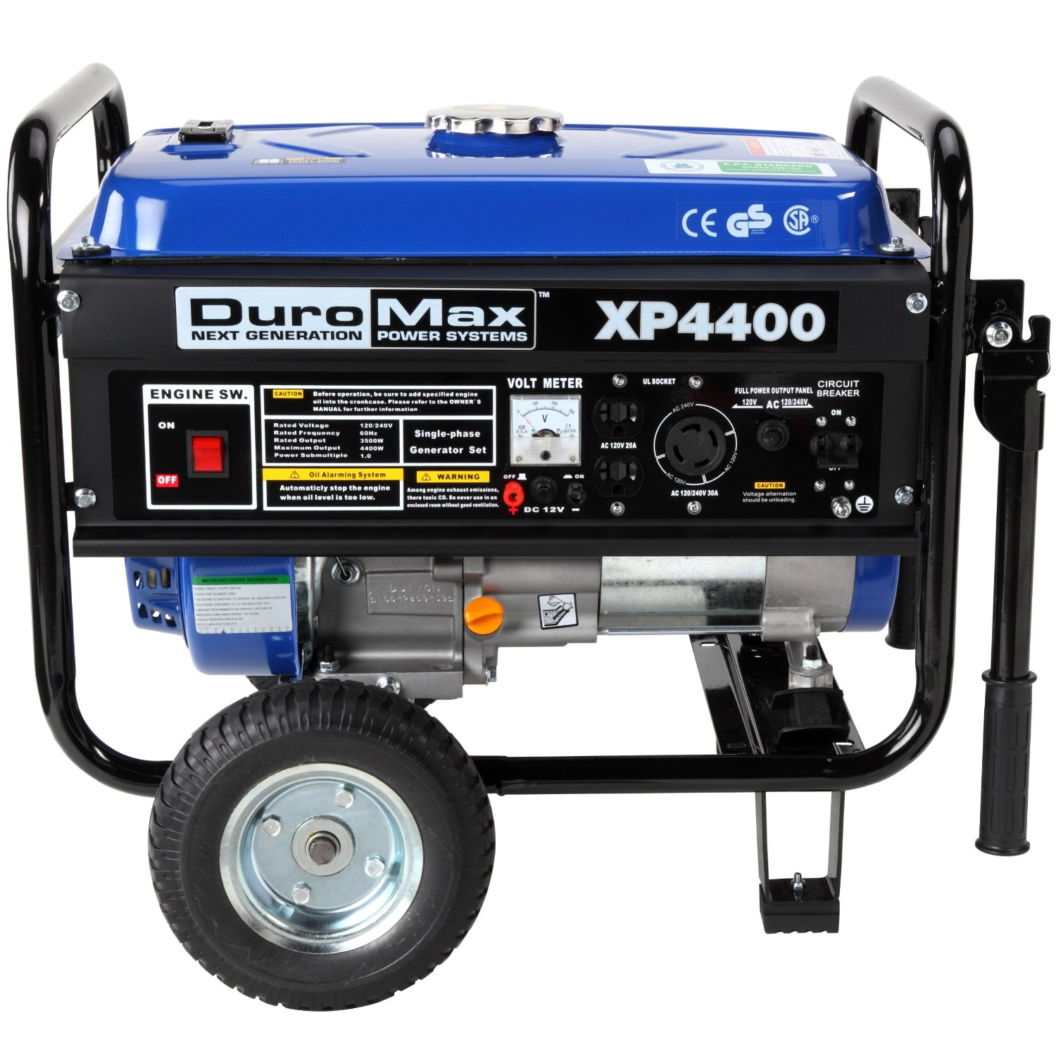 DuroMax-XP4400S-Gas-Powered-Portable-Generator