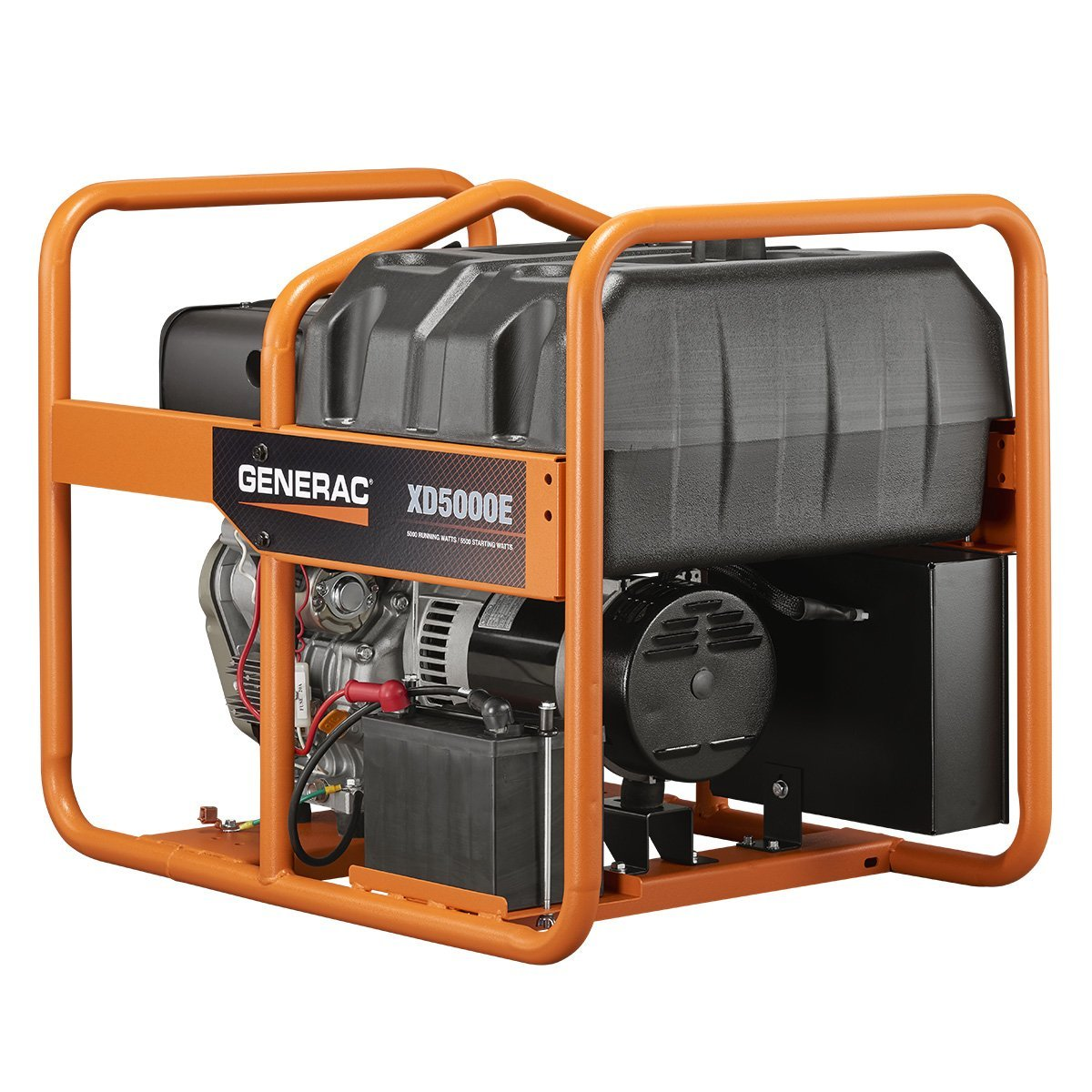 portable diesel generators. Generac 6864 XD5000E 5,000 Watt Electric Start Diesel Portable Generator Generators