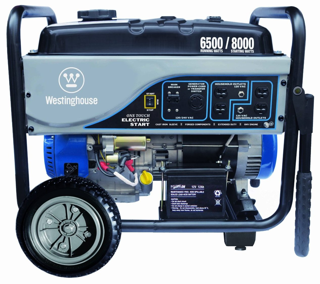 Westinghouse WH6500E. Westinghouse WH6500E Portable Generator