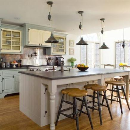 Kitchen Island Instead Of Table 55 great ideas for kitchen islands the popular home ditch the dining room table and go with an over sized island instead with an extra large island you can add seating on two sides and have enough seating workwithnaturefo