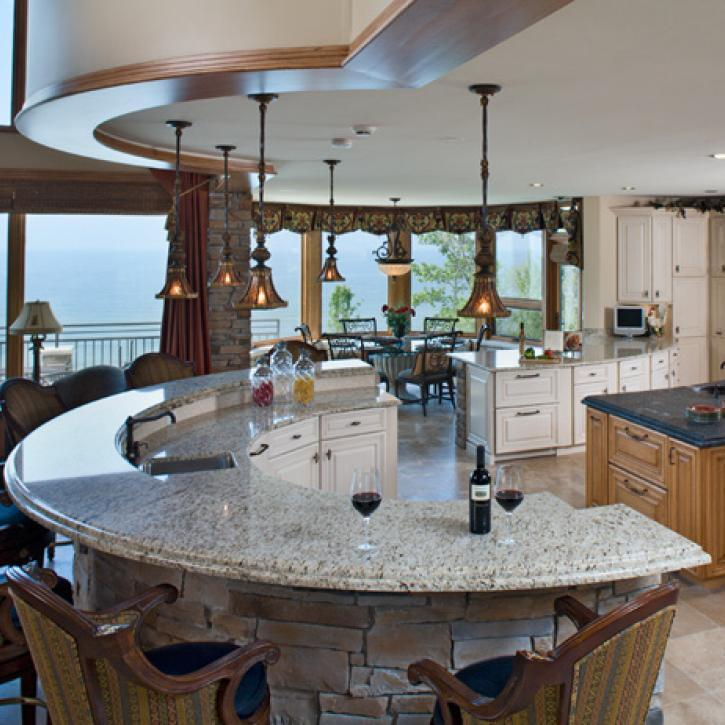 55 great ideas for kitchen islands 29 the popular home - Great ideas for kitchen islands ...