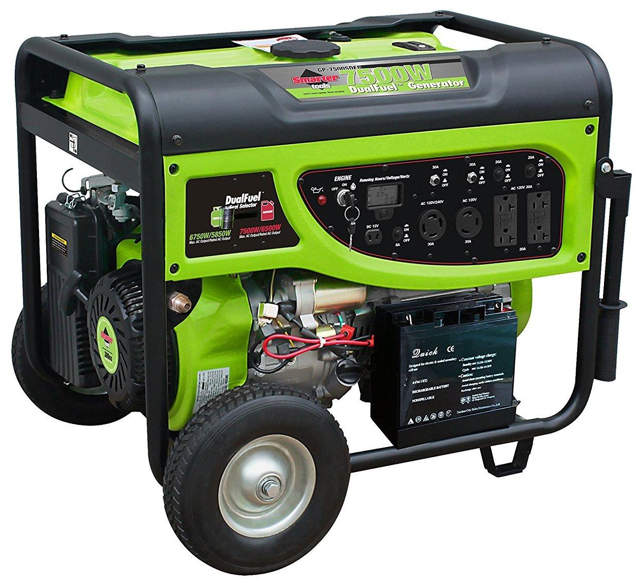 Smart Home Generator : Best dual fuel generator the popular home