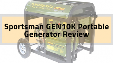 sportsman gen10k portable generator review