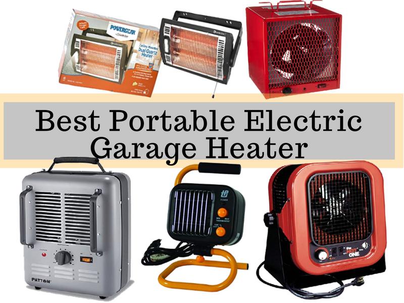 Best Portable Electric Garage Heater