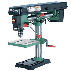 Grizzly G7945 5-Speed Bench-Top Redial Drill Press