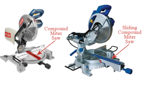sliding vs compound