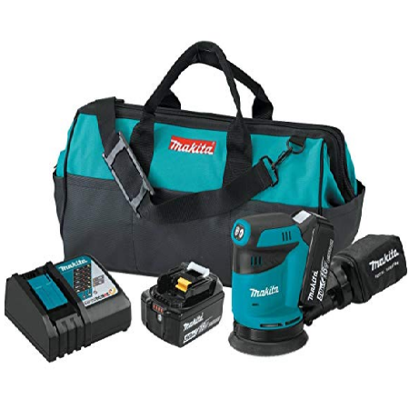 "Makita XOB01T Cordless 5"" Random Orbit Sander"