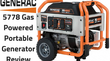 Generac 5778 Gas Powered Portable Generator Review
