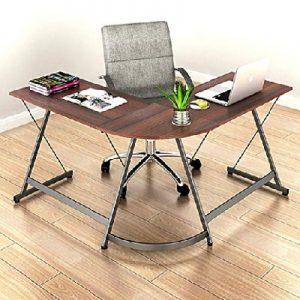 SHW Home Office Corner Desk