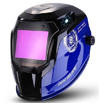 DEKOPRO Durable Solar Powered Welding Helmet