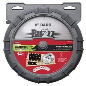 MIBRO 416381 Carbide Stacking Dado Blade Set
