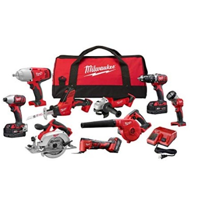 Milwaukee M18 Cordless Combo Tool Kit