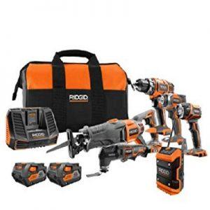 Ridgid 6-Tool Combo Kit