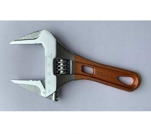 mobarel -Thin Stubby Wide Jaw Opening Wrench