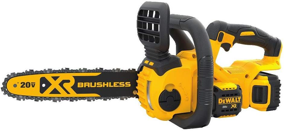 DEWALT DCCS620P1 Brushless Compact Cordless Chainsaw Kit
