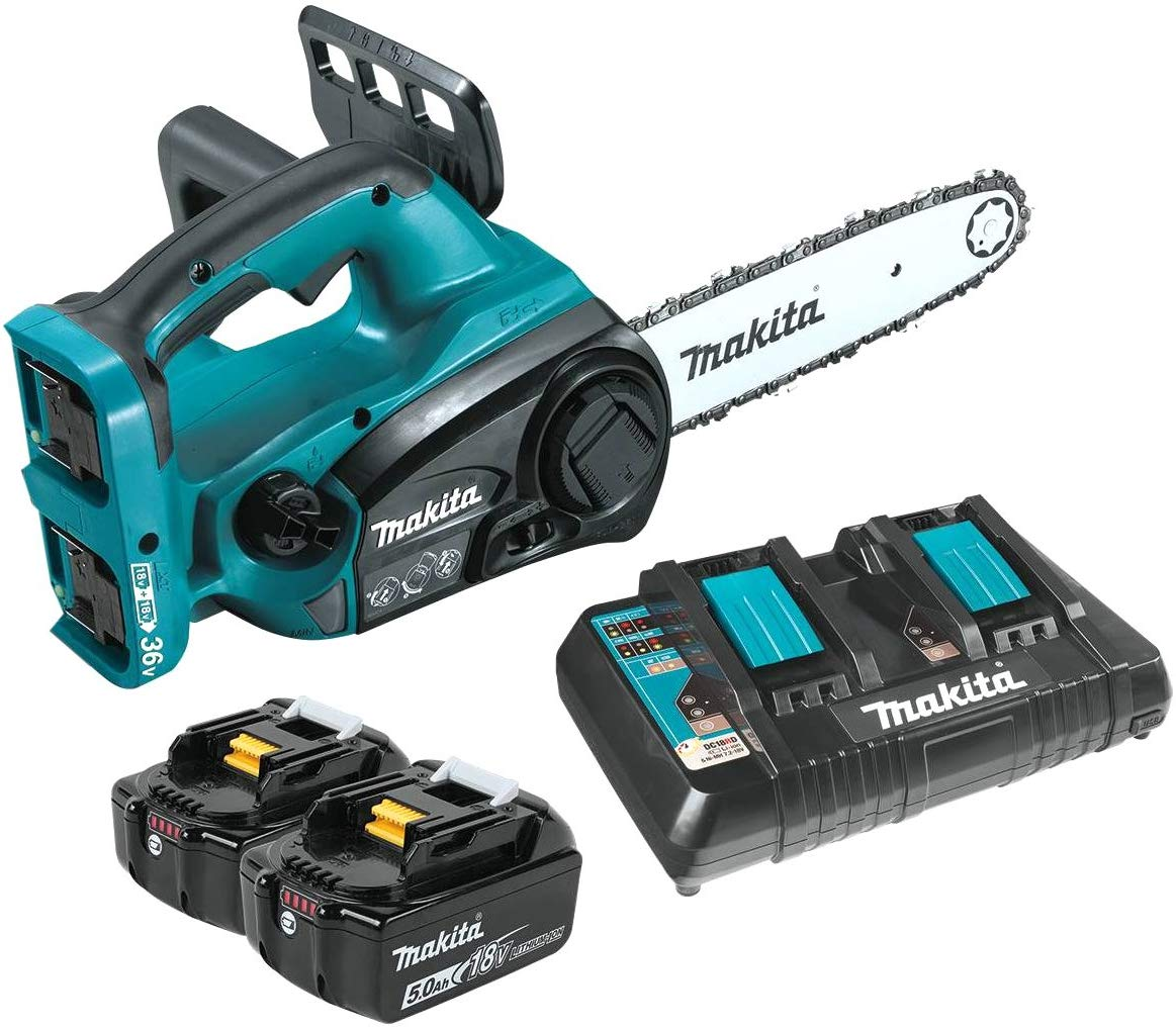 Makita XCU02PT Lithium-Ion Cordless Chain Saw Kit