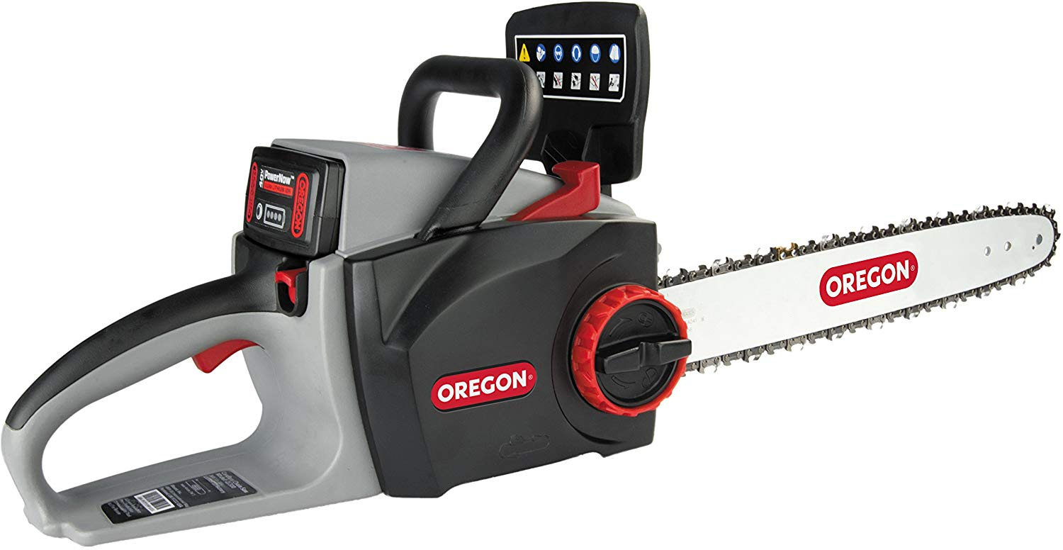 Oregon Cordless Self-Sharpening Chainsaw