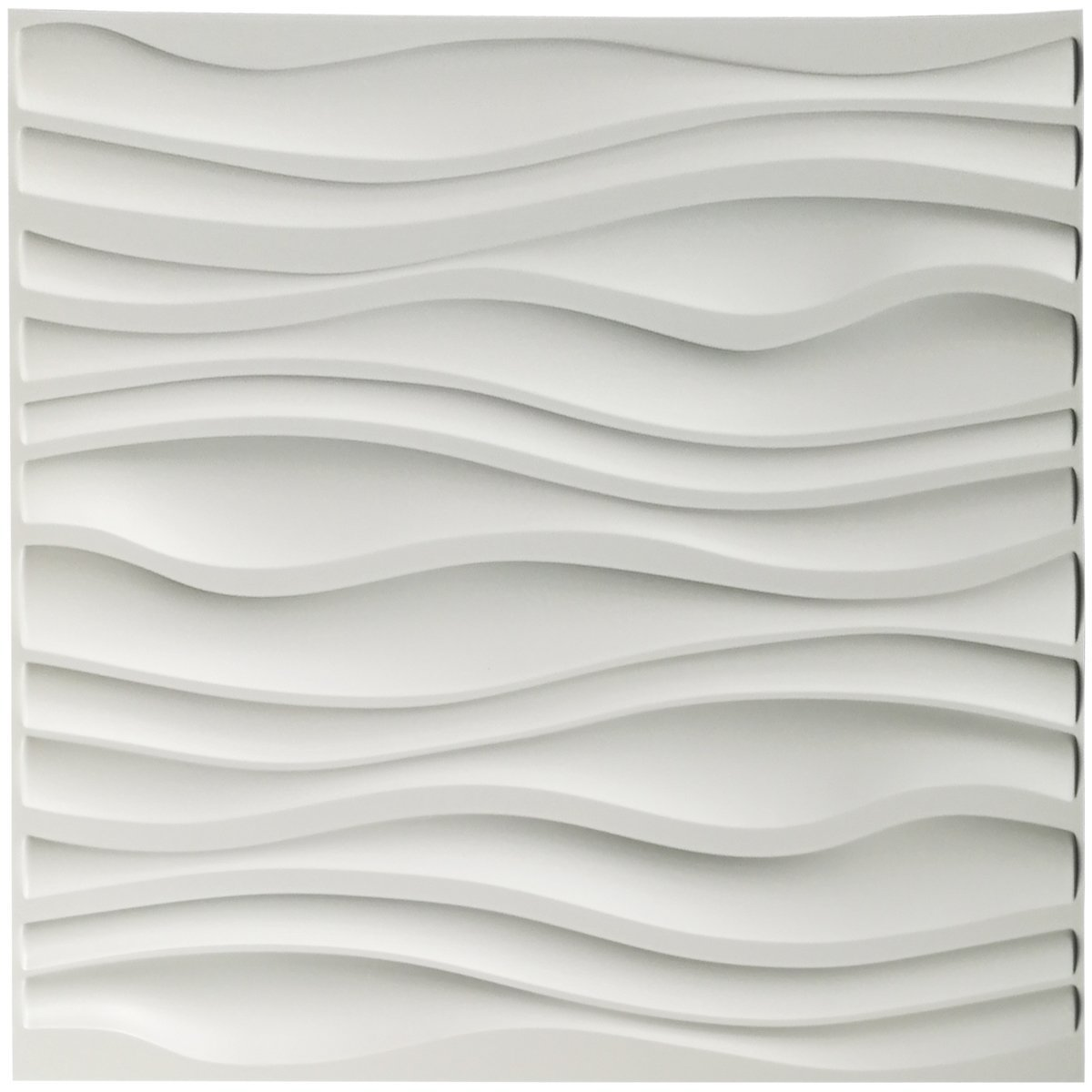 Art3d PVC Wave Board Textured