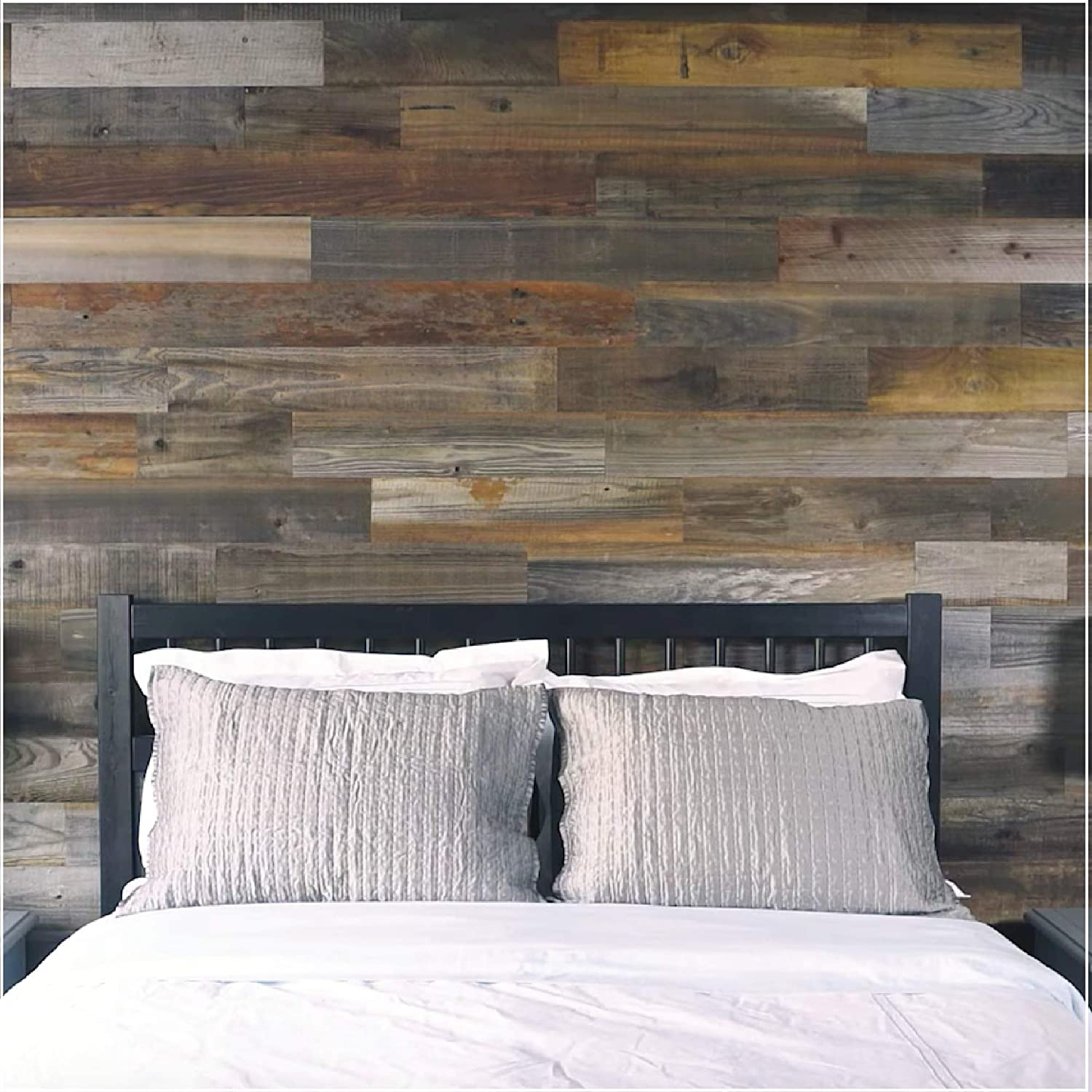 Weekend Walls - Reclaimed Weathered Redwood